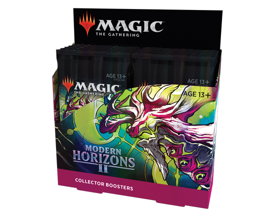Collector Booster packaging