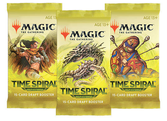 TSR Booster Packs