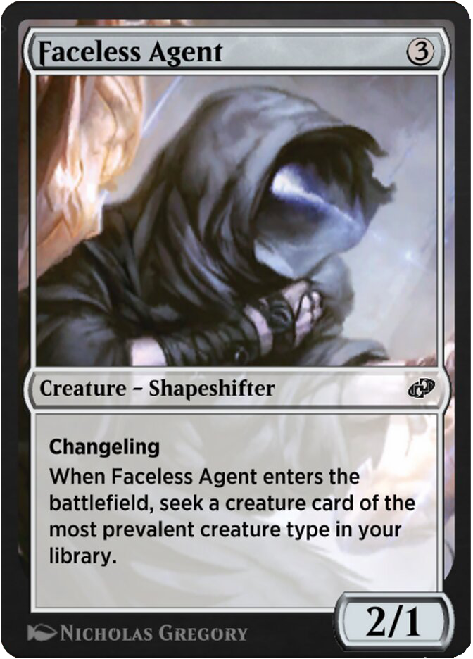 Faceless Agent old