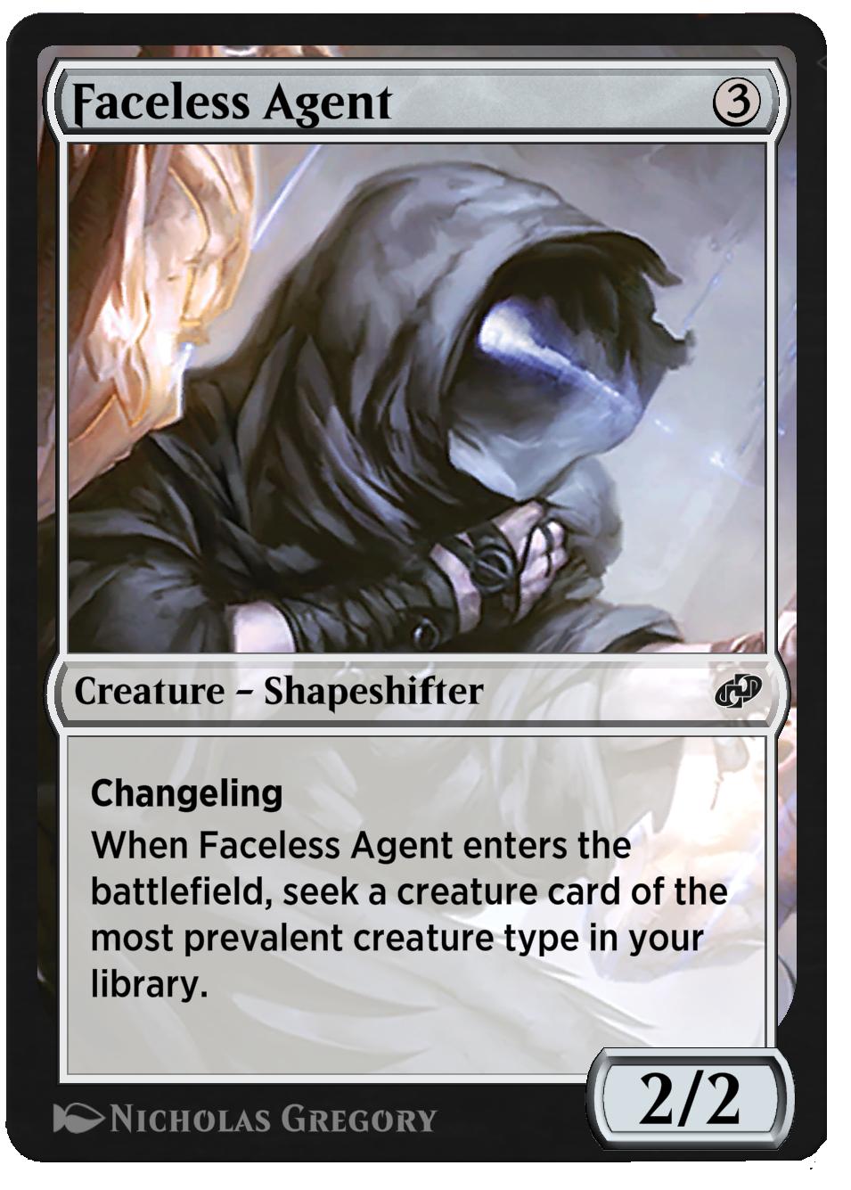 Faceless Agent new
