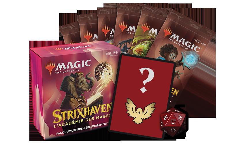 Pack d'avant-première Strixhaven: l'Académie des Mages