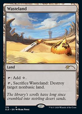 Alternate-art Wasteland