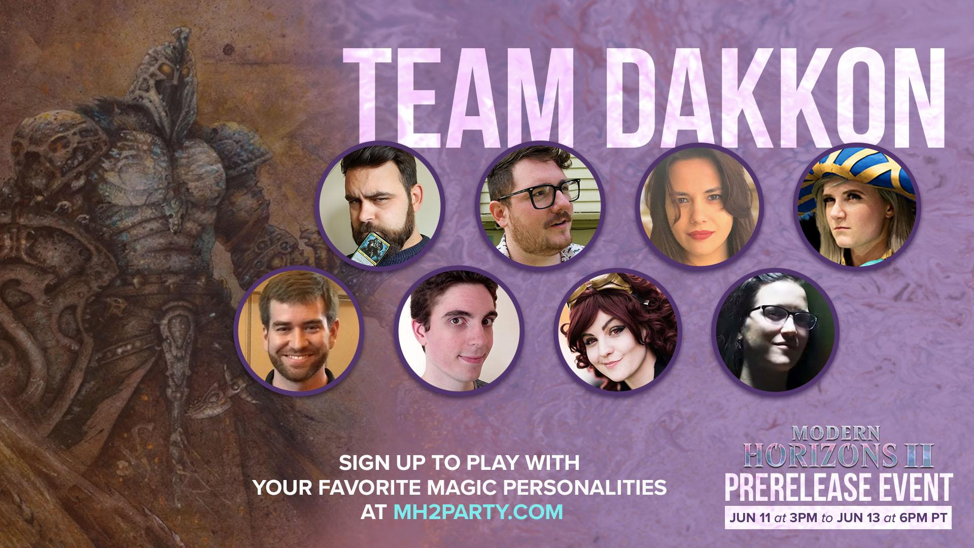 Team Dakkon members