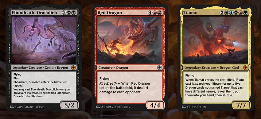 Cartes de dragon