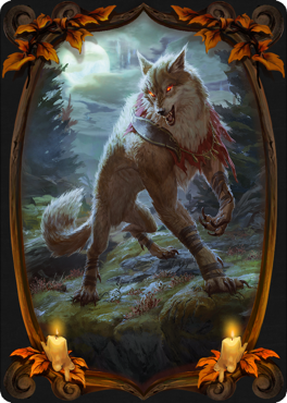 MTG Arena card sleeve of The Moon's Fury