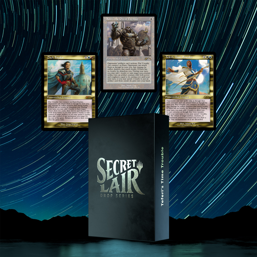 TEFERI'S TIME TROUBLE graphic