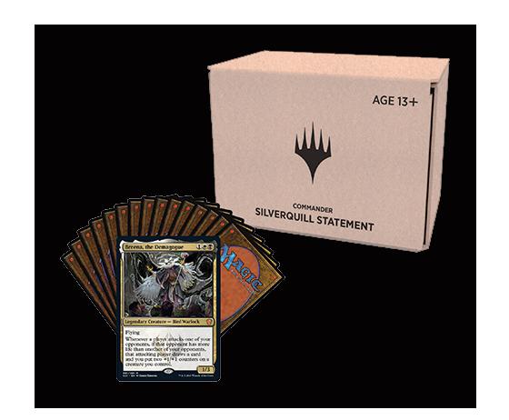 Commander deck – minimal packaging
