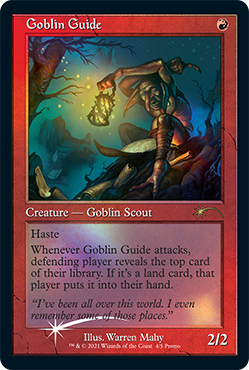 Retro Frame Goblin Guide