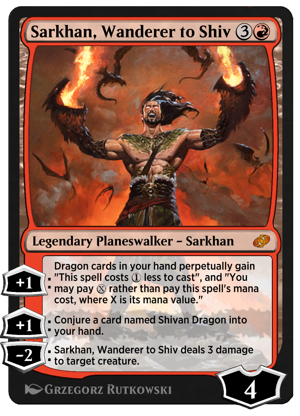 Sarkhan, Wanderer to Shiv new