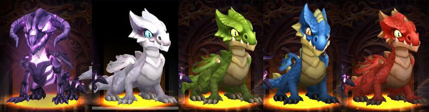 Familiers dragons