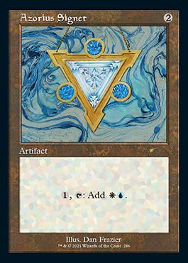 Retro frame Azorius Signet