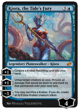 Kiora, the Tide's Fury