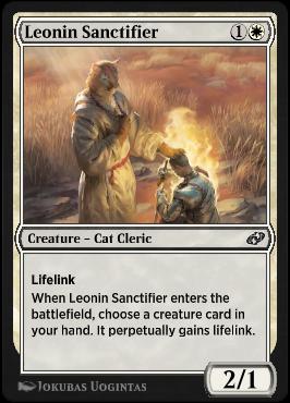 Leonin Sanctifier