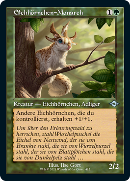 Eichhörnchen-Monarch