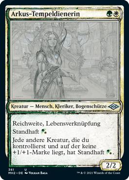 Arkus-Tempeldienerin