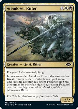 Atemloser Ritter