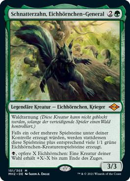 Schnatterzahn, Eichhörnchen-General
