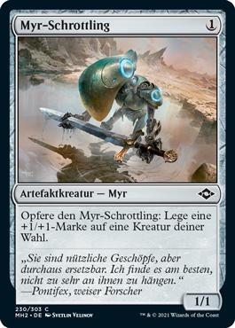 Myr-Schrottling