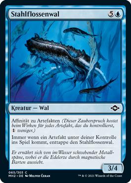 Stahlflossenwal