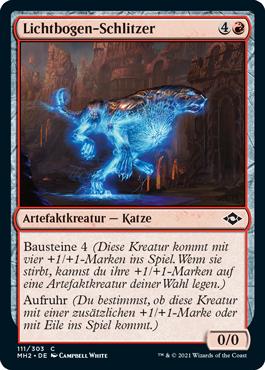 Lichtbogen-Schlitzer