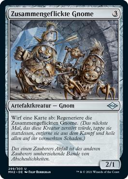 Zusammengeflickte Gnome