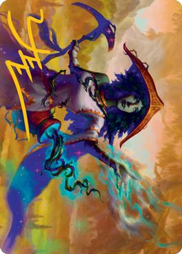 Sythis, Harvest's Hand Art Card 59/81