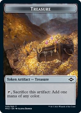 Modern Horizons 2 Treasure 1 token