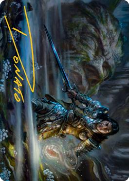 Carth the Lion Art Card 47/81