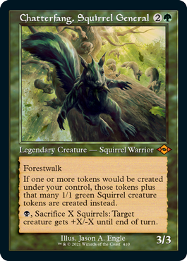 Retro Frame Chatterfang, Squirrel General