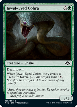 Jewel-Eyed Cobra
