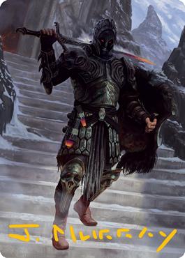 Dakkon, Shadow Slayer Art Card 49/81