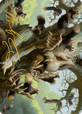 Scurry Oak Art Card 40/81