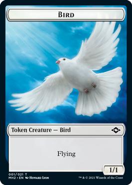 Modern Horizons 2 Bird token