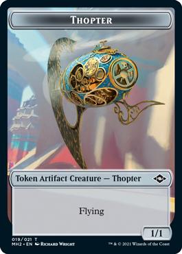 Modern Horizons 2 Thopter token