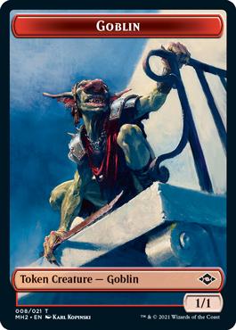 Modern Horizons 2 Goblin token