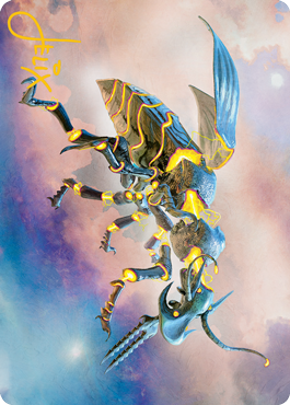Zabaz, the Glimmerwasp Art Card 65/81