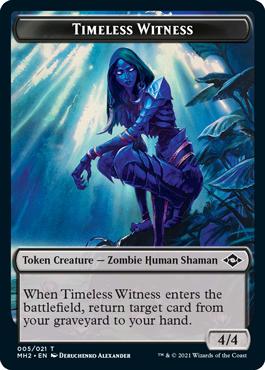 Modern Horizons 2 Timeless Witness token