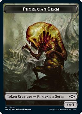 Modern Horizons 2 Phyrexian Germ token