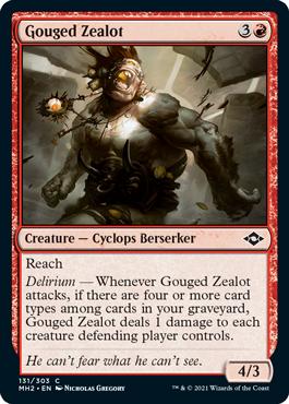 Gouged Zealot