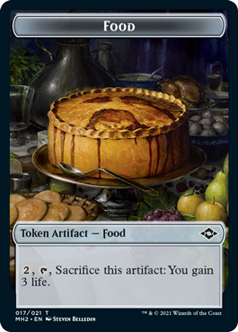 Modern Horizons 2 Food 1 token