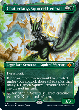 Extended-Art Chatterfang, Squirrel General