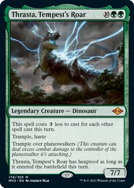 Thrasta, Tempest's Roar