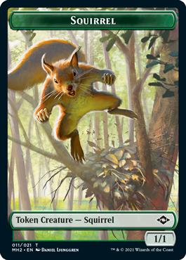 Modern Horizons 2 Squirrel token