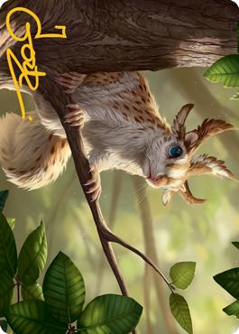 Squirrel Sovereign Art Card 71/81