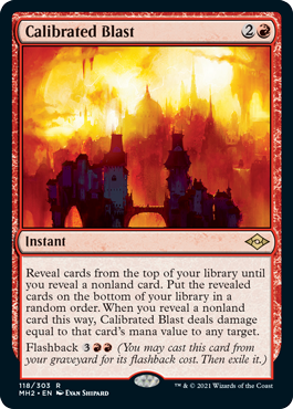 Calibrated Blast