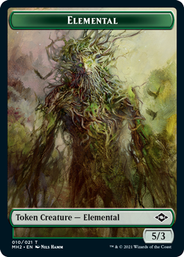 Modern Horizons 2 Elemental token