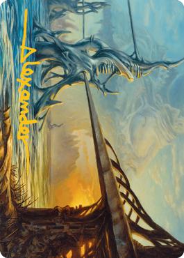 Razortide Bridge Art Card 76/81
