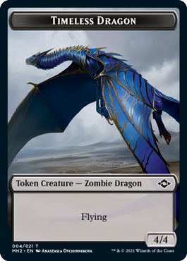 Modern Horizons 2 Timeless Dragon token