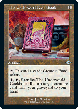 Retro Frame The Underworld Cookbook