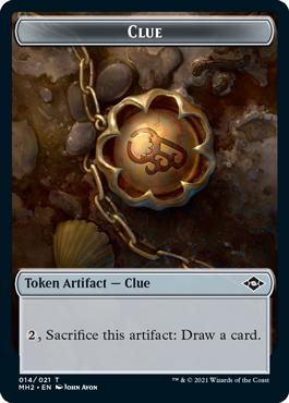 Modern Horizons 2 Clue 1 token